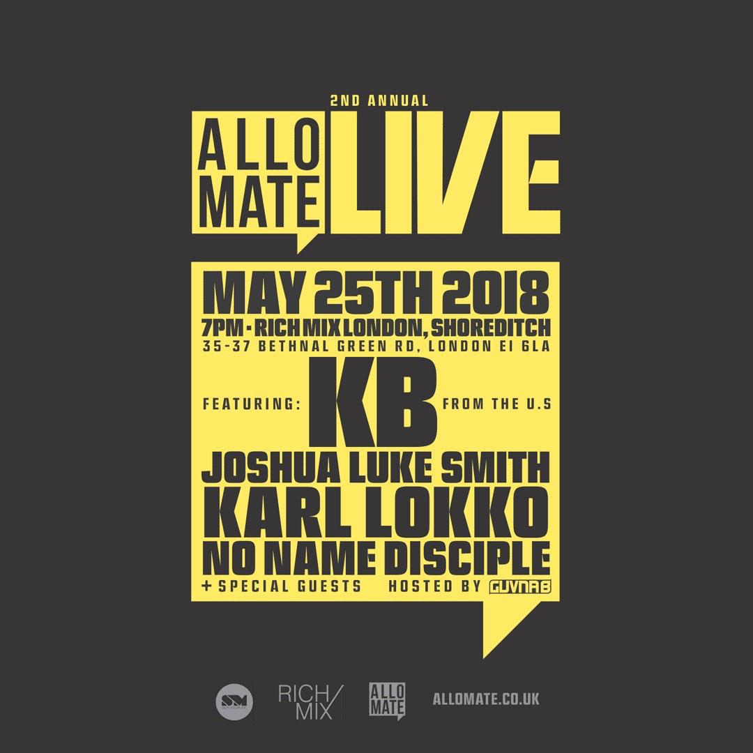 Allo Mate Live 2
